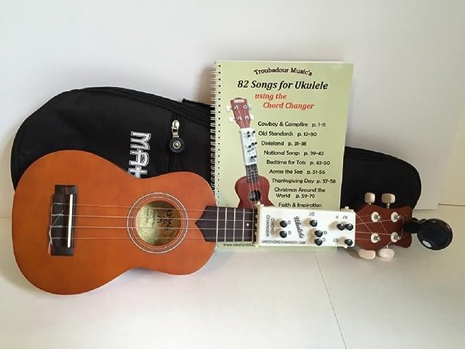 Amazon Ukulele Gift Set With Chord Changer Musical Instruments