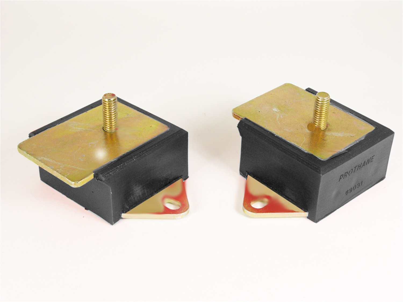 Prothane 1-501-BL Black 6 Cylinder Motor Mount Kit for Jeep CJ