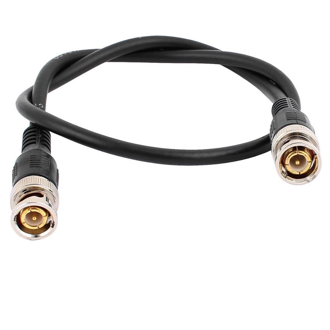 Amazon.com: DealMux 2pcs BNC macho para macho Conector Coaxial RF AV Audio Video Jumper Cable 0,5M Comprimento: Electronics