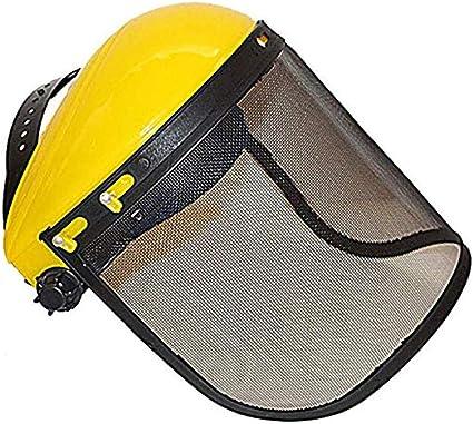FreeLeben Visera Facial Cortadora de C/ésped de Jard/ín Escudo facial Casco Sombrero Protecci/ón Protecci/ón Ocular Visor de Cubierta Facial