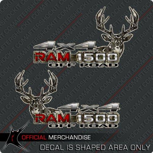 Aftershockit Ram 1500 Truck Deer Hunting Camo Decals