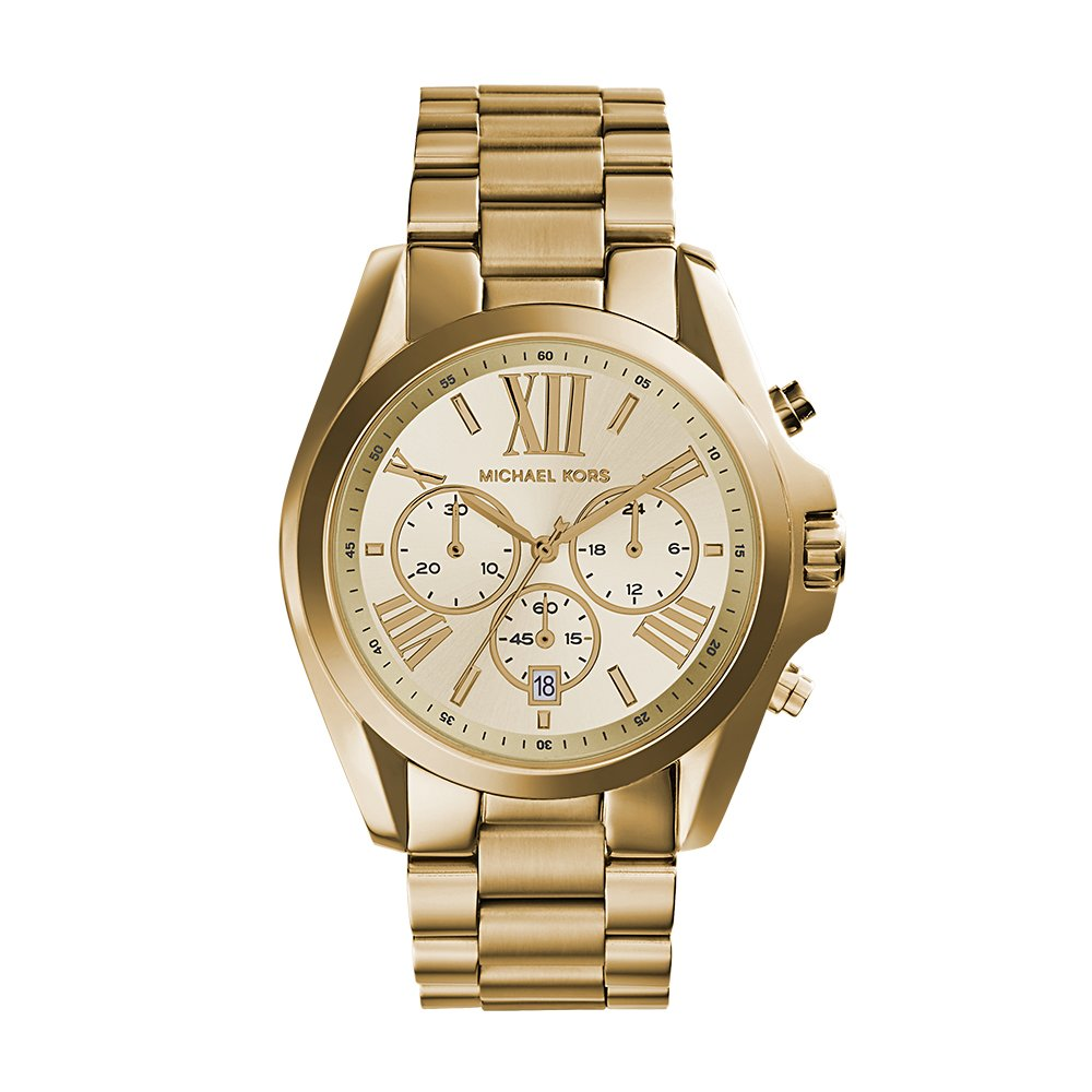 3c164e34c054 Amazon.com  Michael Kors Women s Bradshaw Gold-Tone Watch MK5605  Michael  Kors  Watches