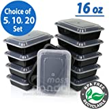 16oz Meal Prep Food Containers with Lids Reusable Microwavable:new by WW shop (5)