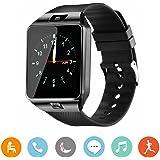 Smartwatch CanMixs, DZ09 Bluetooth 3.0 con contapassi della fotocamera Messaggio Tracker anti-perso Calendario del lettore musicale e scheda SIM