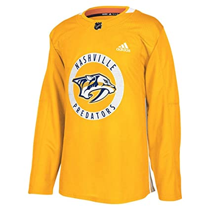 660aabb304 Amazon.com : adidas Nashville Predators Authentic Pro Home Practice ...
