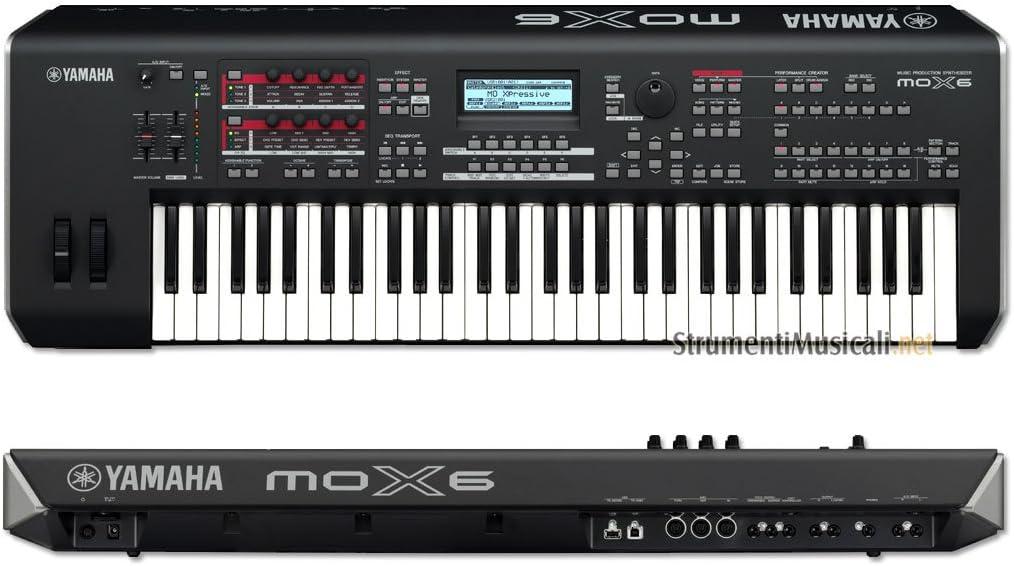 Yamaha MOX6 Keyboard Worksatation Synthesizer MOTIF XF Sound ...