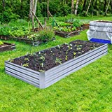 Galvanized Raised Garden Beds for Vegetables Large