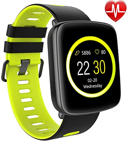Willful Smart Watch for iPhone & Android Phones, SW018 Smartwatch Fitness Tracker Heart Rate Monitor Watch,Sleep Monitor Pedometer Watch for Men Women ...