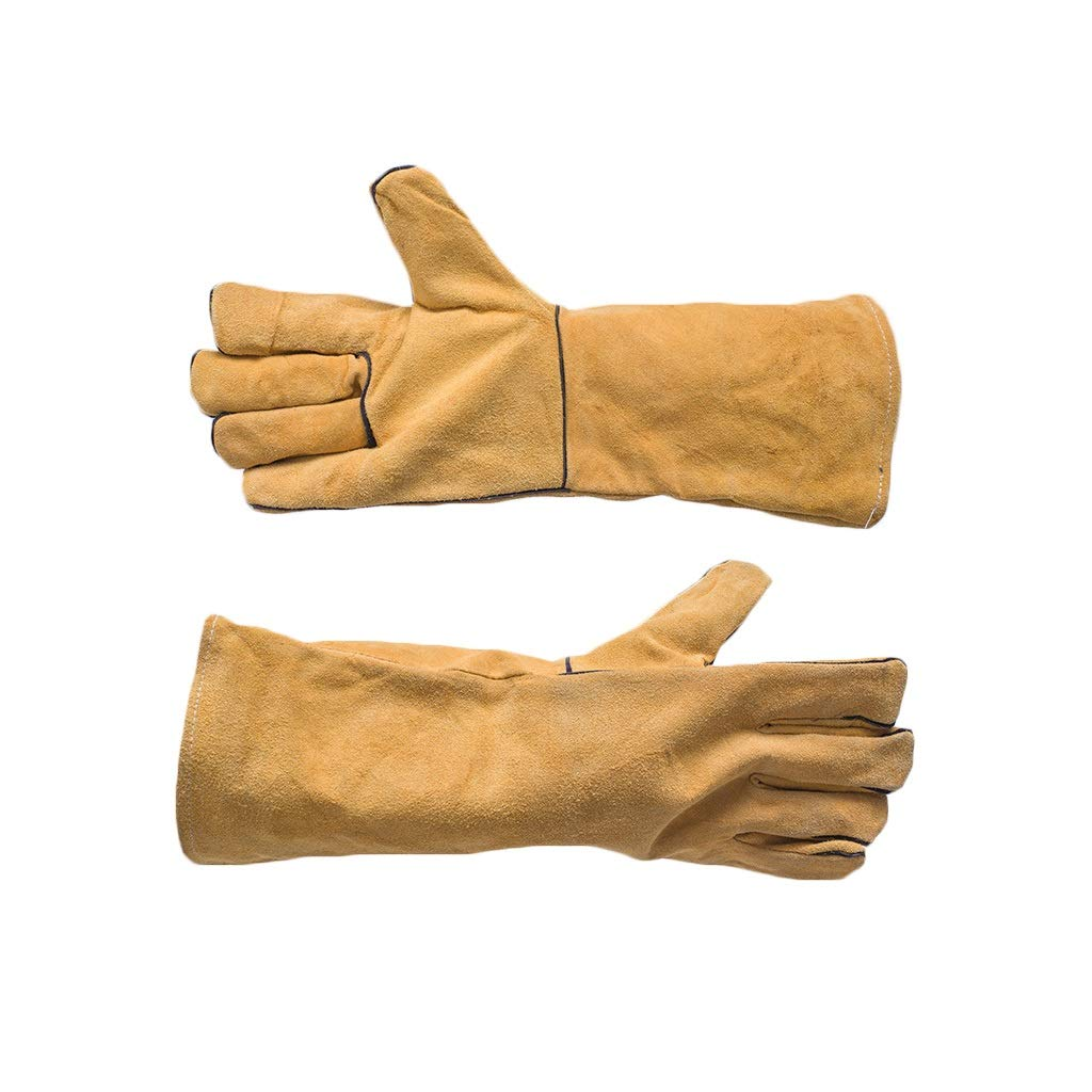 YYTLST Welding Gloves, High Temperature Resistance, Flexible and Convenient to Use, Suitable for Processing Industrial Welding, 10 Pairs (Color : 20 Pairs) by YYTLST