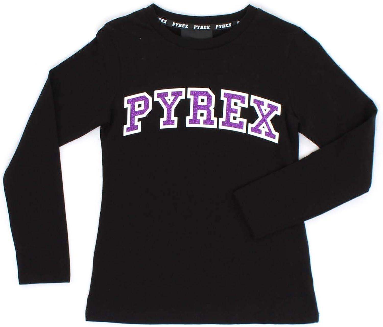 Pyrex T Shirt Bambina Nera