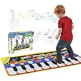 Tencoz Musical Piano Mat 19 Keys Piano Keyboard Play Mat Portable Musical Blanket Build-in Speaker & Recording Function…