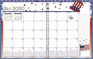 product image for House of Doolittle 2020-2021 Academic Seasonal Monthly Planner, July - June, 7 x 10 Inches (HOD239508-21)