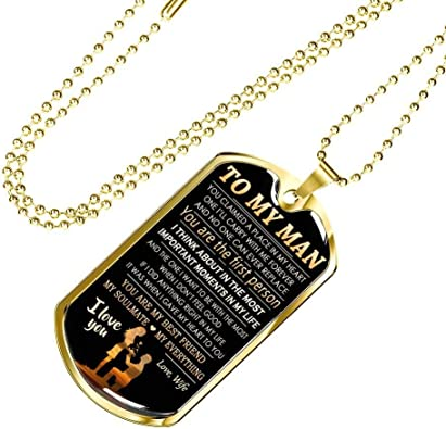 Women Jewelry Couple Necklace STATEMENT Necklace PERSONALIZED PENDANT Initials Necklace Gift For Wife Aluminum Necklace