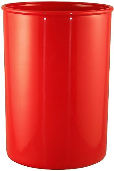 Calypso Basics By Reston Lloyd Plastic Utensil Holder, Red