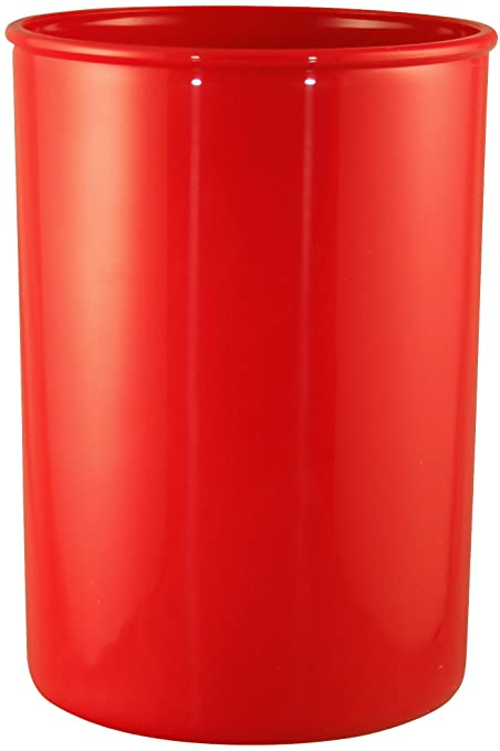 Calypso Basics By Reston Lloyd Plastic Utensil Holder, Red