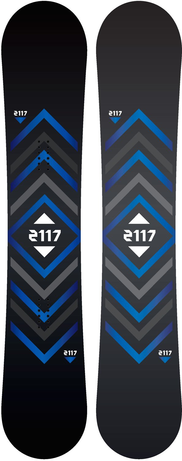 Amazon.com : 2117 of Sweden Berg Snowboard Mens Sz 151cm : Sports & Outdoors