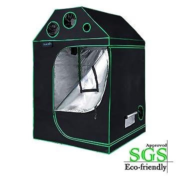 Quictent SGS Approved Eco-friendly 48u0026quot;x48u0026quot;x71u0026quot; Roof Cube Grow Tent  sc 1 st  Amazon.com & Amazon.com : Quictent SGS Approved Eco-friendly 48