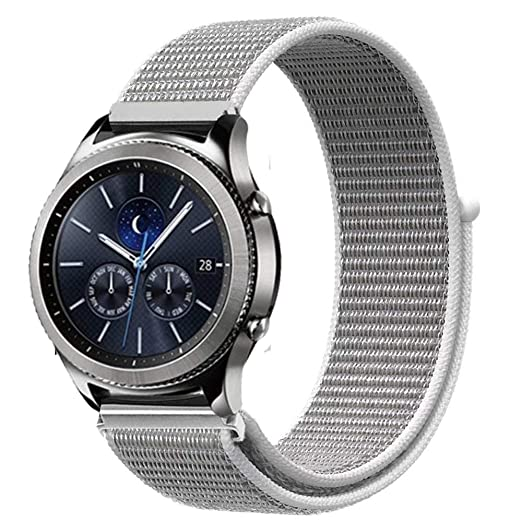 Amazon.com: Jewh Sport Loop Bracelet for Samsung Gear s3 - Frontier/Classic Band Strap - Smart Watch - Nylon watchband for - Creative Samsung Watch Band ...