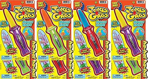 Ja-Ru Jokes & Gags Magic Knife Bundle Pack