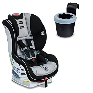 Britax Boulevard ClickTight Convertible Car Seat With Black Cup Holder Trek