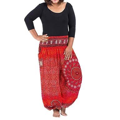 Lunule Pantalones Yoga Mujer Tallas Grandes Casual ...
