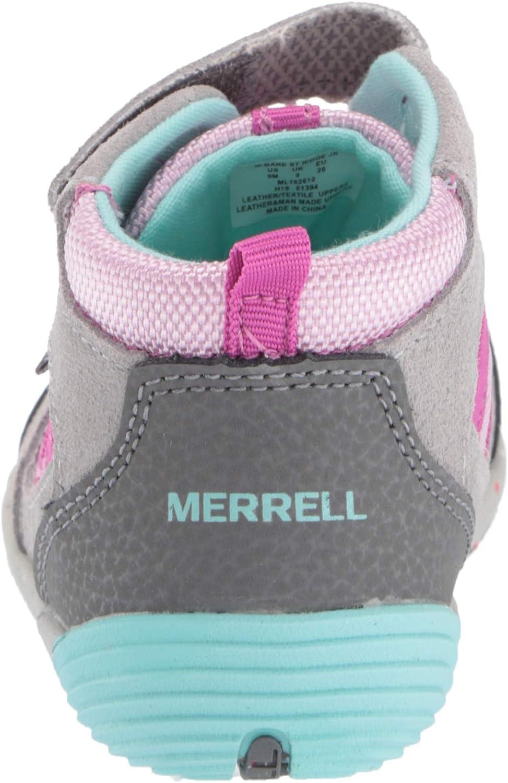 Merrell unisex-child Bare Steps Ridge Jr