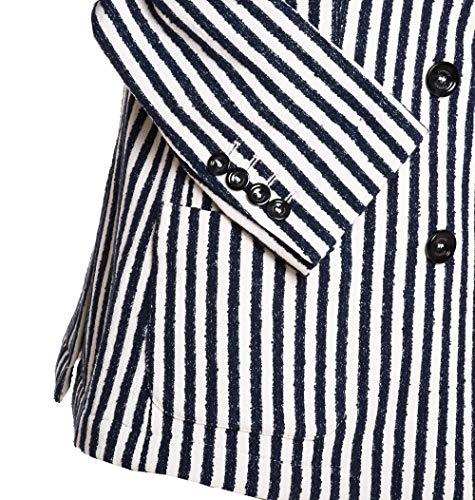 980ja3004jac2304211 Cotone Donna Eleventy Blazer nero Bianco OqxfAEUw4