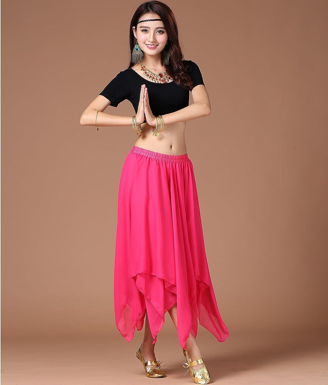 Astage Damen Bauchtanz Tanzkleidung Tanzen Kost Indian Costume Hip Scarf Skirt