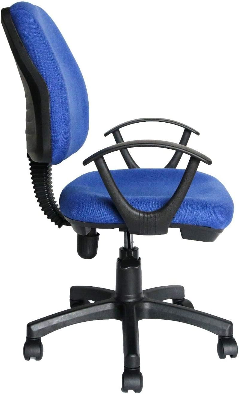 EGLEMTEK Chaise de Bureau Bleu: : Cuisine & Maison