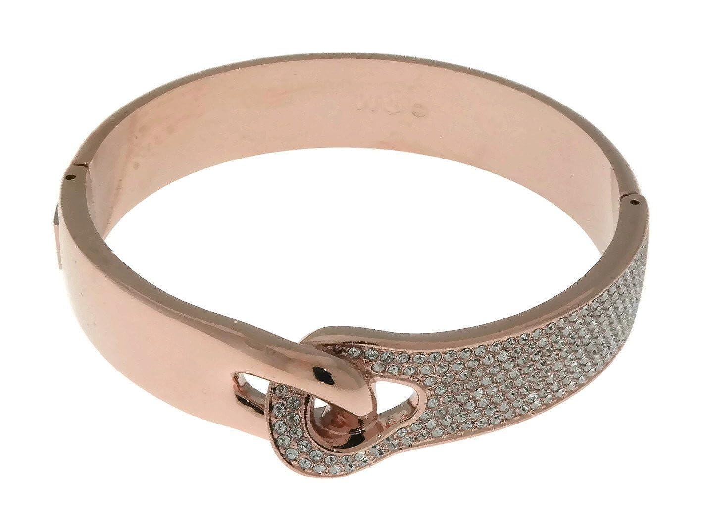 56523da09797f Amazon.com: Swarovski Gallon Wide Bangle - White - 5252876: Jewelry