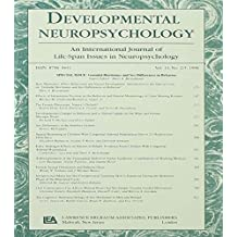 Gonadal Hormones and Sex Differences in Behavior: A Special Issue of developmental Neuropsychology: 14