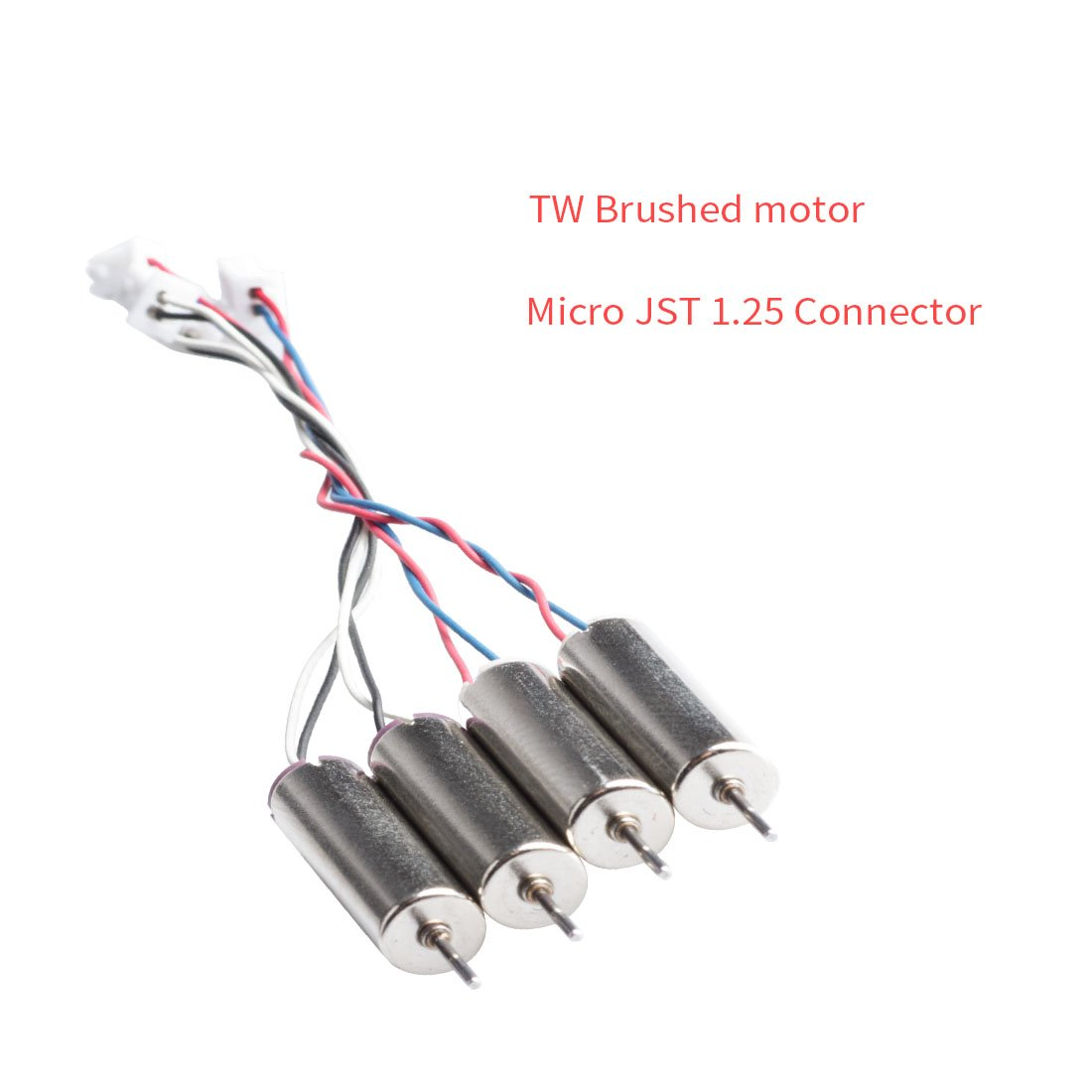 6x15mm Motor 3.7V 17500KV TW Sauce Edition with Micro JST 1.25 Plug for Tiny Whoop Blade Inductrix AKK 3 Sets 12pcs