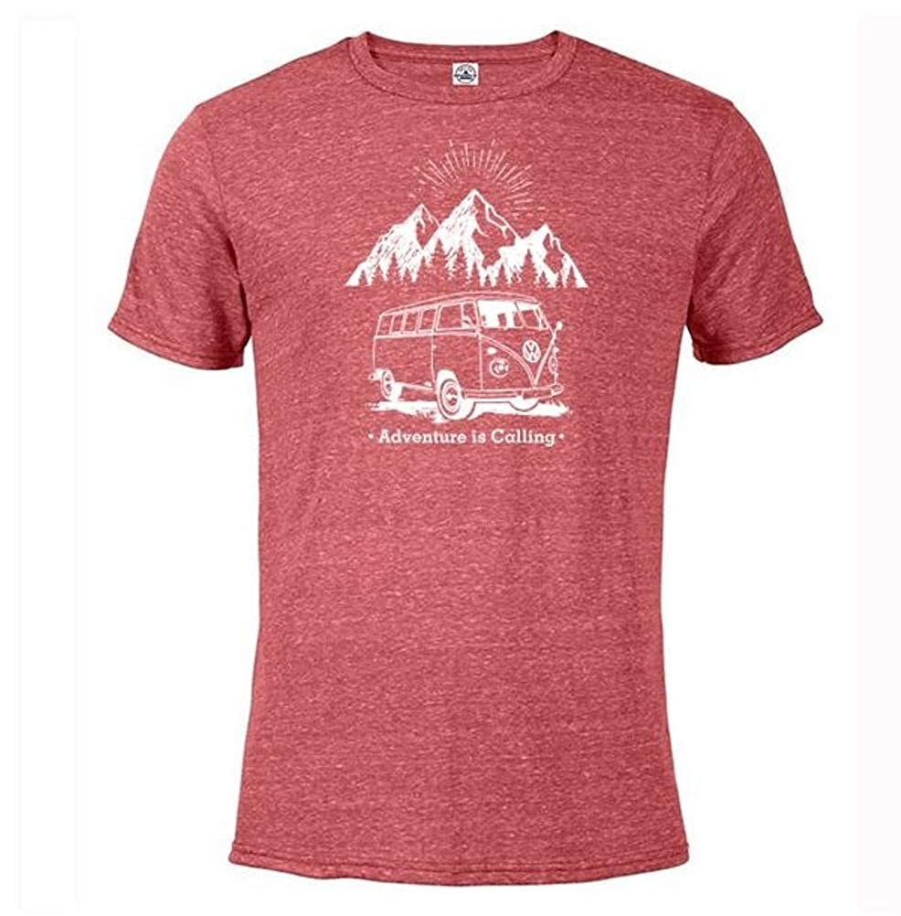 Volkswagen VW Mountain Adventure T-Shirt Red X-Large