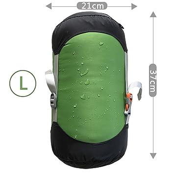 WIND HARD Saco de dormir de compresión, resistente al agua, bolsa de almacenamiento de 5 tamaños: Amazon.es: Deportes y aire libre