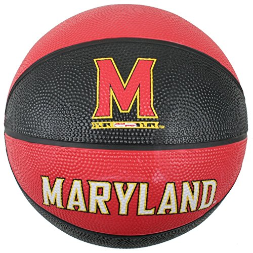 Maryland Terrapins Mini Rubber Basketball by Baden