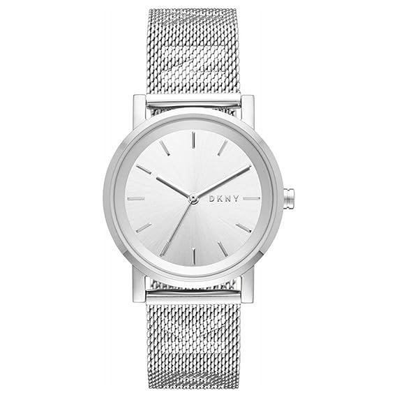 DKNY Reloj Analogico para Mujer de Cuarzo con Correa en Acero Inoxidable NY2620: Amazon.es: Relojes