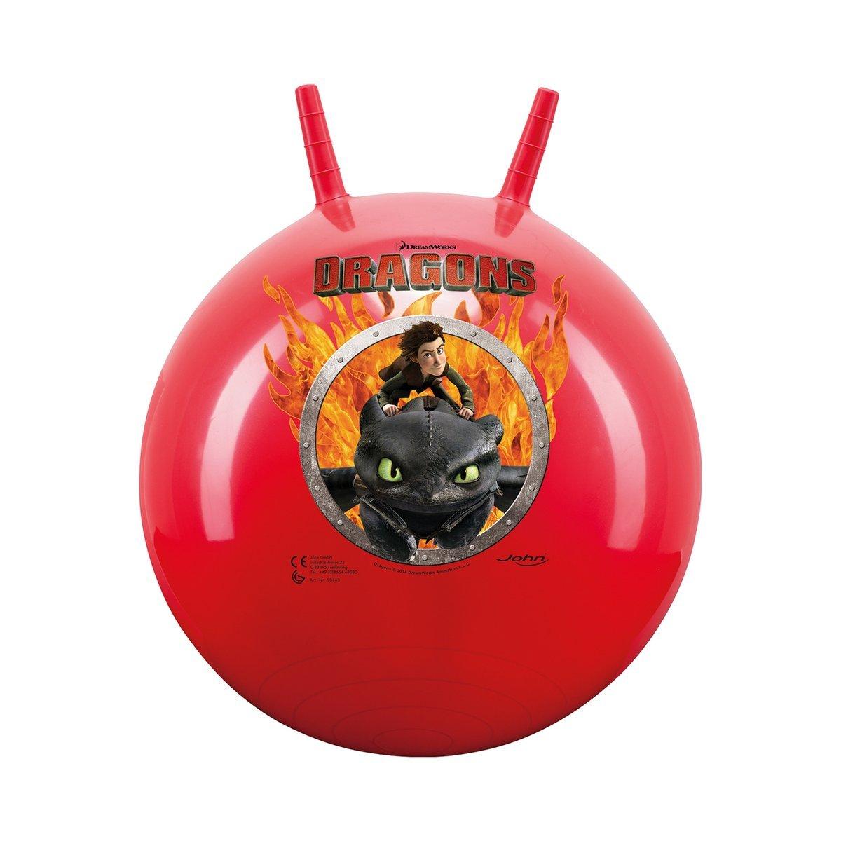 John Jump Ball Dragons Space Hopper Ball Kids Bouncing Ball Game Unknown 59443