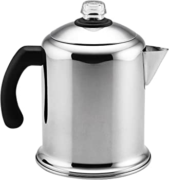 Farberware Classic Stainless Steel Yosemite Coffee Percolator