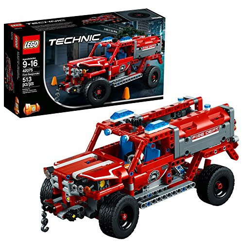 LEGO Technic First Responder 42075 Building Kit (513 Pieces) (Trucks Rare Mack)