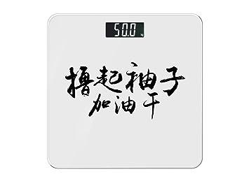 ZhangTianShi Báscula de baño Inicio Básculas Inicio Básculas inteligentes Básculas personalizadas Básculas electrónicas, B: Amazon.es: Hogar