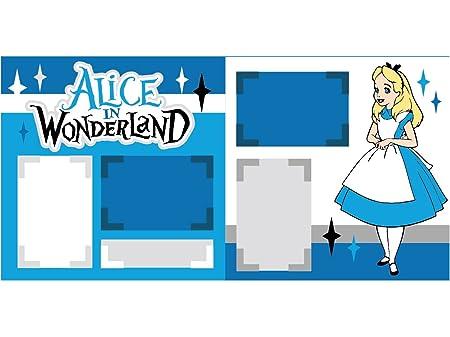 Alice In Wonderland Scrapbook Kit By Scrapbook Concierge Amazon