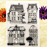 Maphissus House Clear Stamps for Scrapbooking Supplies Dies Craft Cards Making Fun Decoration