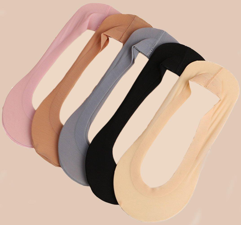 Gauss Kevin Thin Ice Silk No Show Low Cut Liner Socks Women Elastic Nylon Summer Sock Non Slip by Gauss Kevin (Image #10)