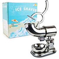 WYZworks Commercial Ice Shaver Heavy Duty - Snow Cone Shaved Icee Maker Machine