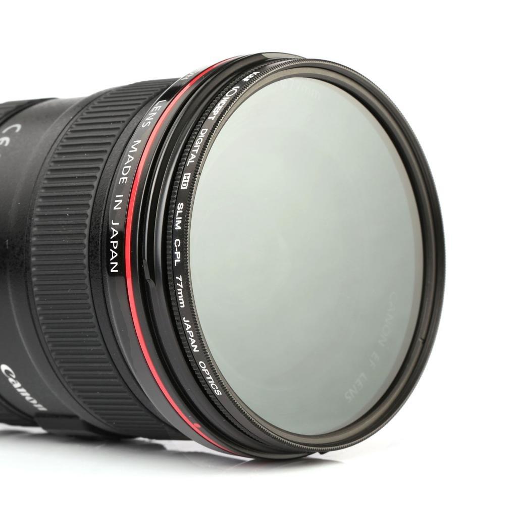 Lens Cleaning Cloth K/&F Concept 52mm Slim CPL Milti-Coated Circular Polarizer Filter for NIKON D7100 D7000 D5200 D5100 D5000 D3300 D3200 D3100 D3000 DSLR Cameras
