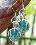 Recycled Vintage Mason Jar Silver Drop Earrings