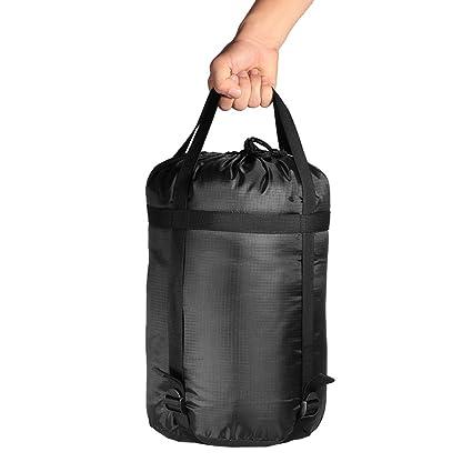 c5fd5ab683a Lixada Stuff Sack Compression Nylon Lightweight Camping Sleeping Bag  Utility Stuff Storage Sack (2 Size