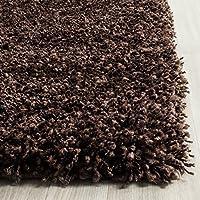 Safavieh California Premium Shag Collection SG151-2727 Brown Runner (2'3