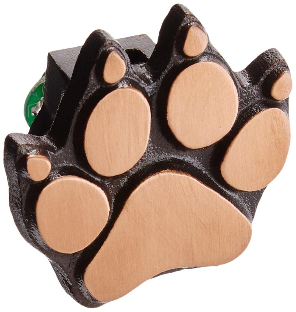 Dog Paw Doorbell Ringer - Bronze