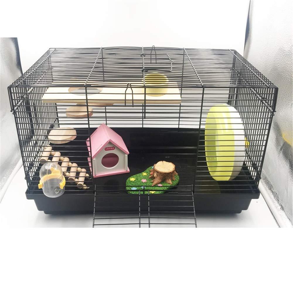 più preferenziale DRKJ Hamster Hamster Hamster Cage Foundation Cage Hamster Hedgehog Flower Branch Piccolo Animale Domestico Super Naked Cage Families Cage Package Cage Villa  fino al 60% di sconto